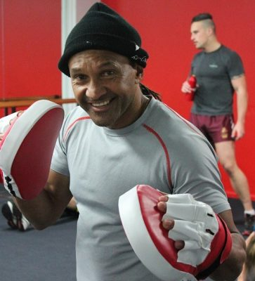 Boxing instructor Train 24/7 Fitness