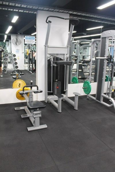Gym Floor - Free weights area - Train24/7 Fitness