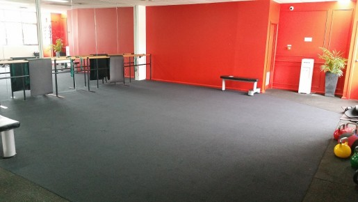 Upstairs Gym floor - Free space- Classes