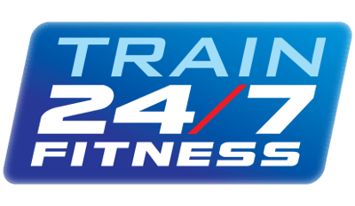 Train 24/7 Fitness Logo